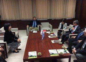 Συνάντηση Υπουργού Παιδείας με δήμαρχο της πόλης Shinjuku