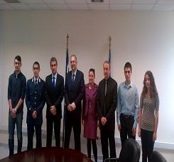 Συνάντηση του ΥΠΑΙΘ κ. Α. Λοβέρδου με τον ομόλογό του Υπουργό της Κύπρου κ. Κ. Καδή