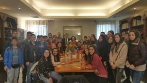 Μαθητές από το 2ο Γυμνάσιο Διδυμοτείχου στον ΥΦΥΠΑΙΘ Αλέξανδρο Δερμεντζόπουλο