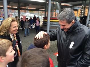 Επισκέψεις ΥΠΑΙΘ Α. Λοβέρδου σε σχολεία στις Βρυξέλλες