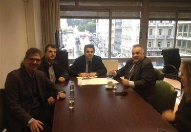 Συνάντηση Ο.Ε.Φ.Ε. με τον Υφυπουργό Ανάπτυξης