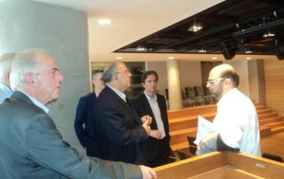 Ο αν. Υπουργός Πολιτισμού Ν. Ξυδάκης στο Πολιτιστικό Συνεδριακό Κέντρο Ηρακλείου