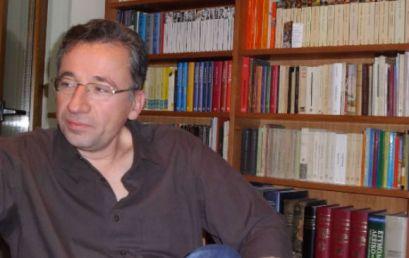 Ο Ισίδωρος Ζούργος στη  Λέσχη Ανάγνωσης Ελληνικής και Ξένης Πεζογραφίας της Περιφερειακής Βιβλιοθήκης Χαριλάου