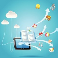 Cloud Computing and Education Concept