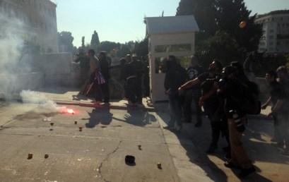 Η βία στην πολιτική του ΣΥ.ΡΙΖ.Α.