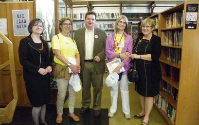Eπίσκεψη Πρυτανικών Αρχών του Α.Π.Θ. στο Σπουδαστήριο και στο Μουσείο Λαογραφίας