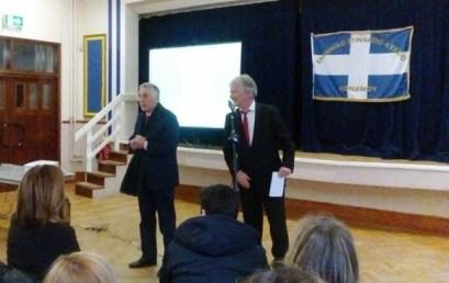 Επίσκεψη του Yφυπουργού, Θεοδόση Πελεγρίνη, στα ελληνικά σχολεία στο Λονδίνο