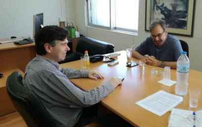 Συνάντηση με τον Πρόεδρο της ΕΡΤ είχε ο Υφυπουργός Παιδείας Δημήτρης Μπαξεβανάκης για τη στήριξη του προγράμματος Μαθητείας