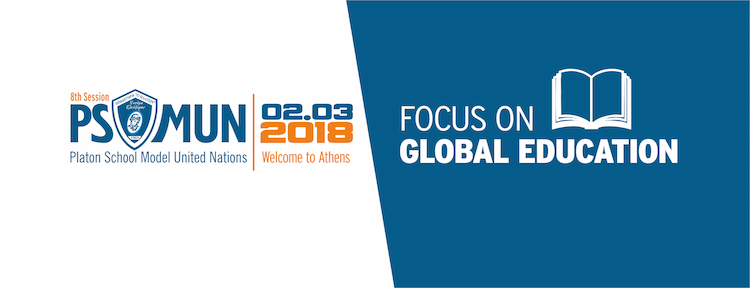 8ο Μαθητικό Συνέδριο (PS-MUN 2018) στα Εκπαιδευτήρια «Ο ΠΛΑΤΩΝ» – Μάρτιος 2018.
