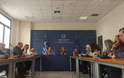 Συνάντηση της Υφυπουργού Παιδείας, Μερόπης Τζούφη με την Πανελλήνια Ομοσπονδία Συλλόγων Ειδικού Εκπαιδευτικού Προσωπικού Ειδικής Αγωγής