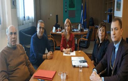 Συνάντηση Υφ. Παιδείας Μ. Τζούφη με τον Πανελλήνιο Σύλλογο Εργοθεραπευτών