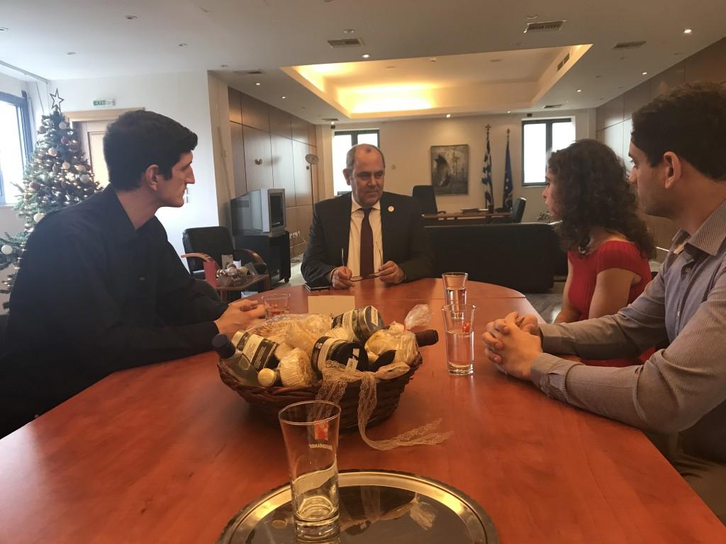 Συνάντηση του Υφυπουργού Παιδείας και Θρησκευμάτων με τον Σύλλογο Φοιτητών ΜΙΤ