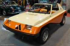 Rétromobile 2015 - Autobianchi A112 Giovanni Pininfarina de 1973 - collection Lopresto