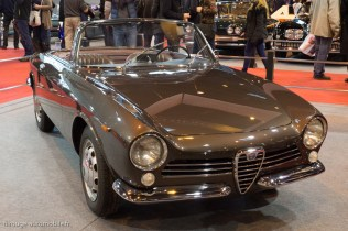 Rétromobile 2015 - Alfa Romeo GT Spider prototype de 1961 - collection Lopresto