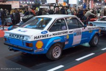 Rétromobile 2015 - Ford Escort Rallye