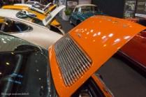 Rétromobile 2015 - Porsche 911 capots ouverts