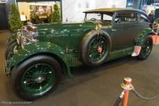 """Rétromobile 2015 - Bentley Speed six """"Blue Train"""" de 1930"""