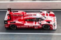 Porsche 919 Hybrid - Deuxième des 24 Heures du Mans 2015