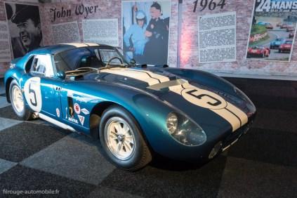 Shelby Cobra Daytona - 4ème et 1er en GT aux 24 Heures du Mans 1964