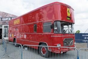 Camion atelier Ferrari - 24 Heures du Mans 1967