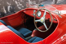 Rétromobile 2016 - poste de conduite Ferrari 166 MM