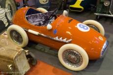 Rétromobile 2016 - voitures à pédales