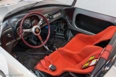Rétromobile 2016 - poste de conduite Porsche 718 W-RS