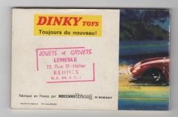 catalogue Dinky Toys 1967