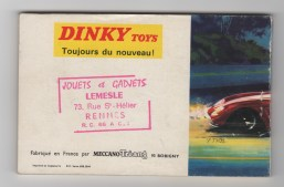 catalogue Dinky Toys 1967