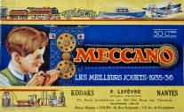 Catalogue Meccano 1935 - 36