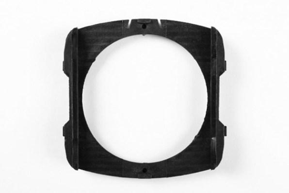 Speciale Wide Angle filterhouder van 84.5 mm.