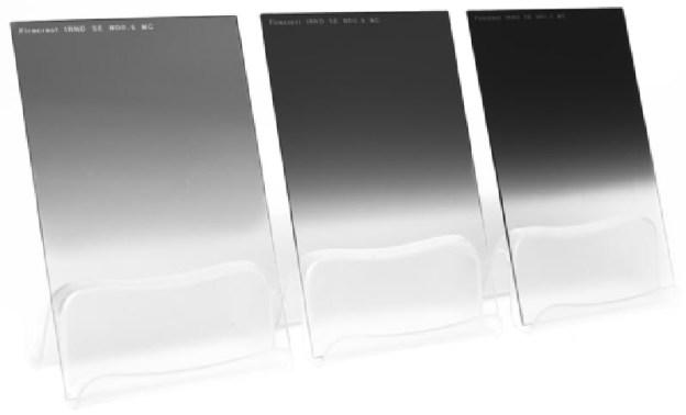 Formatt-Hitech grijsverloopfilters.