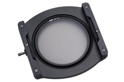 NiSi filterhouder met polarisatiefilter.