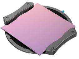 Irix Edge 100 filter system met 10-stops grijsfilter.