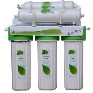 เครื่องกรองน้ำ Uni Pure Green 5 ขั้นตอน Post Carbon (UP05NRG)