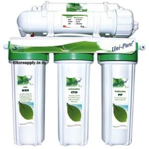 เครื่องกรองน้ำ Uni Pure Hollow Fiber ระบบ UF 5 ขั้นตอน (Green)