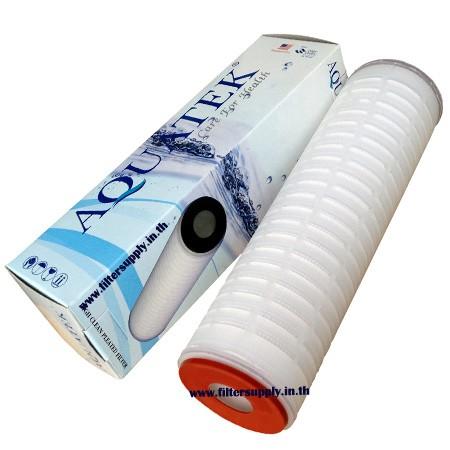 ไส้กรองน้ำ Absolute Aquatek Pleated Filter ขนาด 10 นิ้ว 0.22 ไมครอน