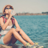 travel with a filtered water bottle