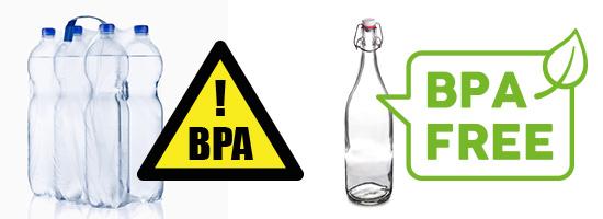 BPA freie Flaschen verwenden