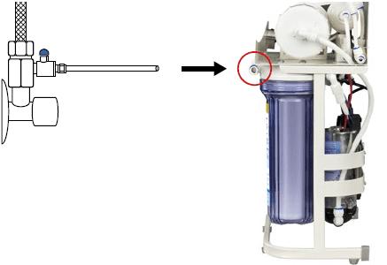 Osmoseanlage anschließen