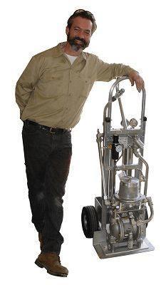 Carro de filtración, un equipo móvil para aceite hidráulico