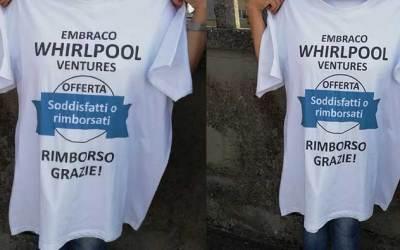 EMBRACO, LAVORATORI IN SCIOPERO – PRESIDIO UNITARIO FIM FIOM E UILM