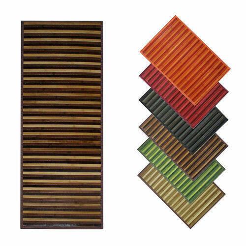 Tappeto in Bamboo Degradè con Antiscivolo