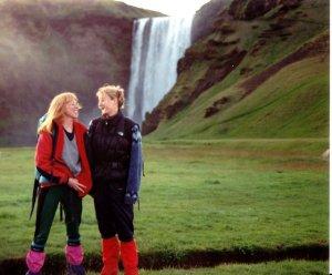 Við Skógafoss - Jónsmessa 1994
