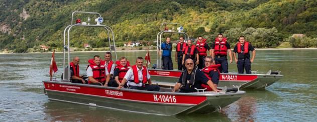 Eventfotografie, Beispiel Feuerwehrrettungsbootübergabe