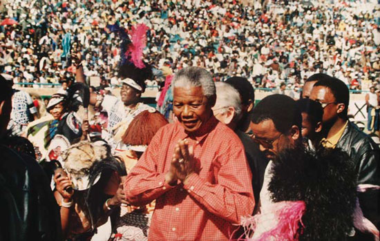 Behaviour - Mandela spent 27 years in prison to fight apartheid and resumed negotiations as soon as he got out.