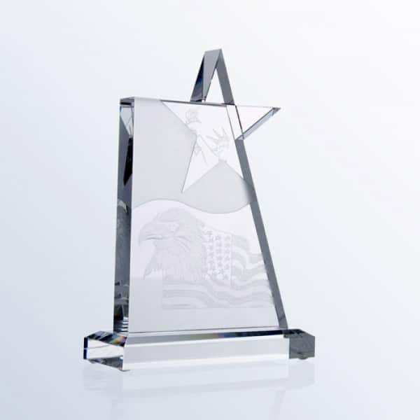 Waving Star Award Medium (U.S. Copyrighted)