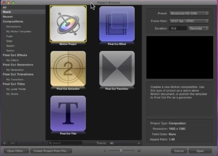 Apple Motion 5 ¿una realidad?