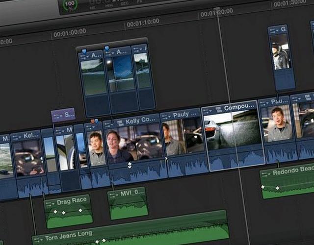 Storylines en el Final Cut Pro X