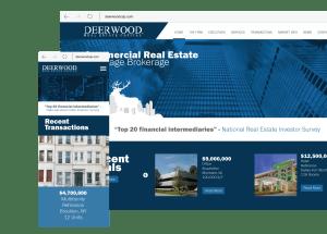 Deerwood Capital Website Design